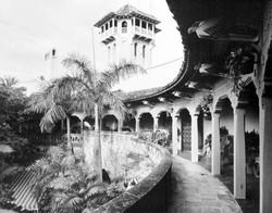 original curved balcony