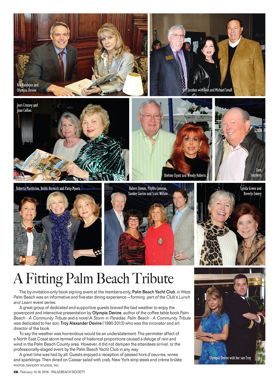 PBS Yacht Club Tribute editorial