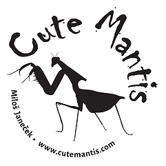 CUTE MANTIS LOGO + R White.png