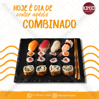 Sushi é com a Nav