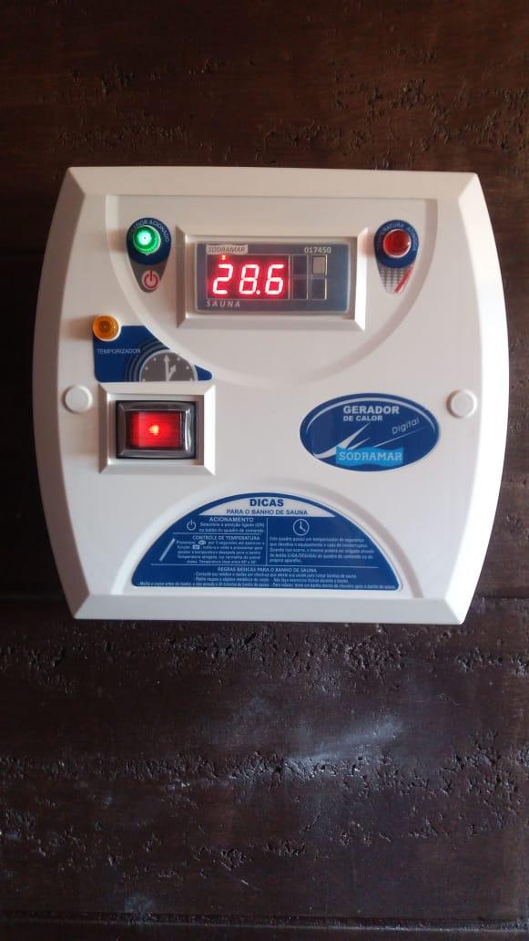 Controle digital da Sauna