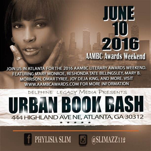 Come See Me @ Urban Book Bash part of  2016 AAMBC Literary Awards Weekend