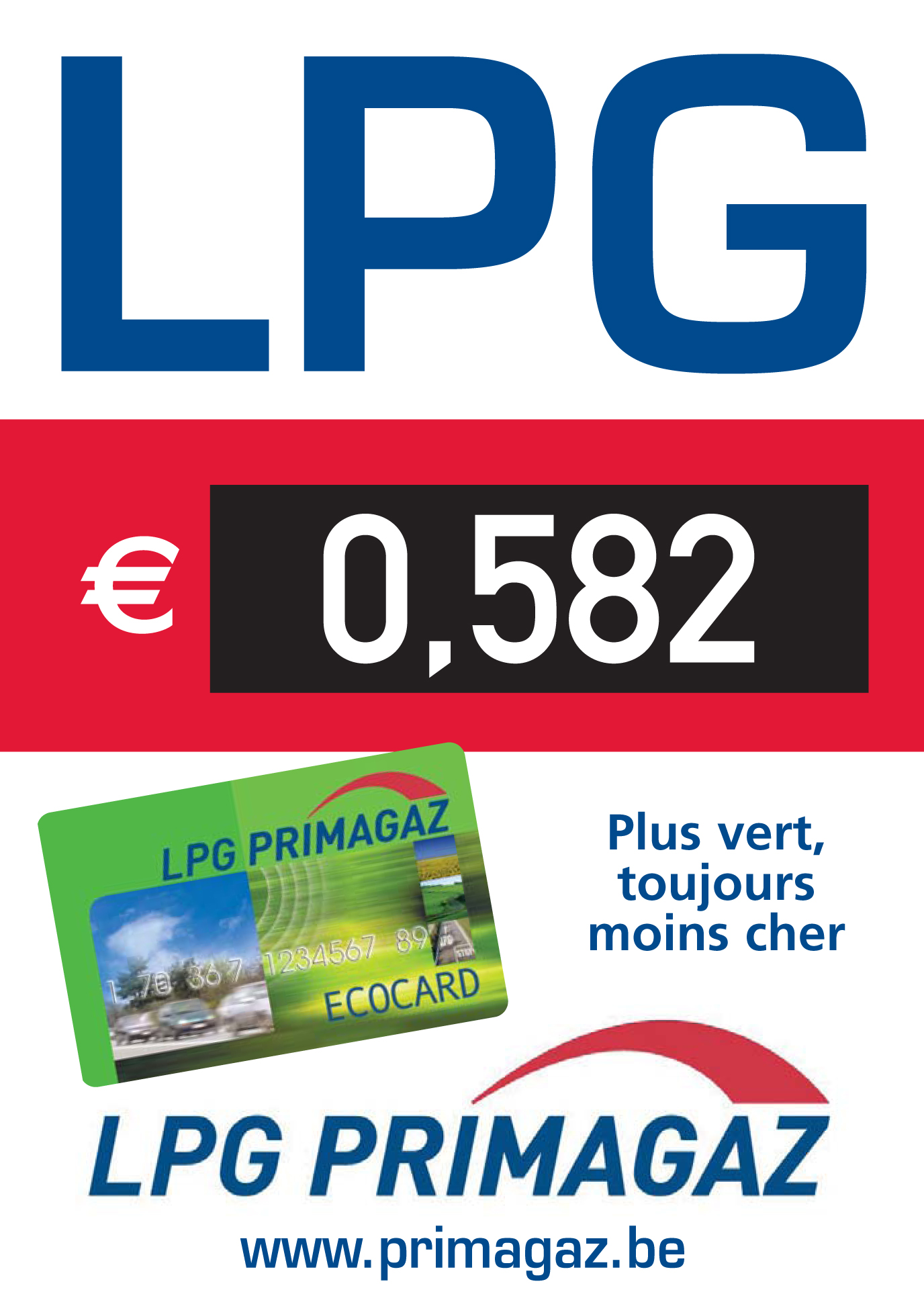 Affiche stations LPG