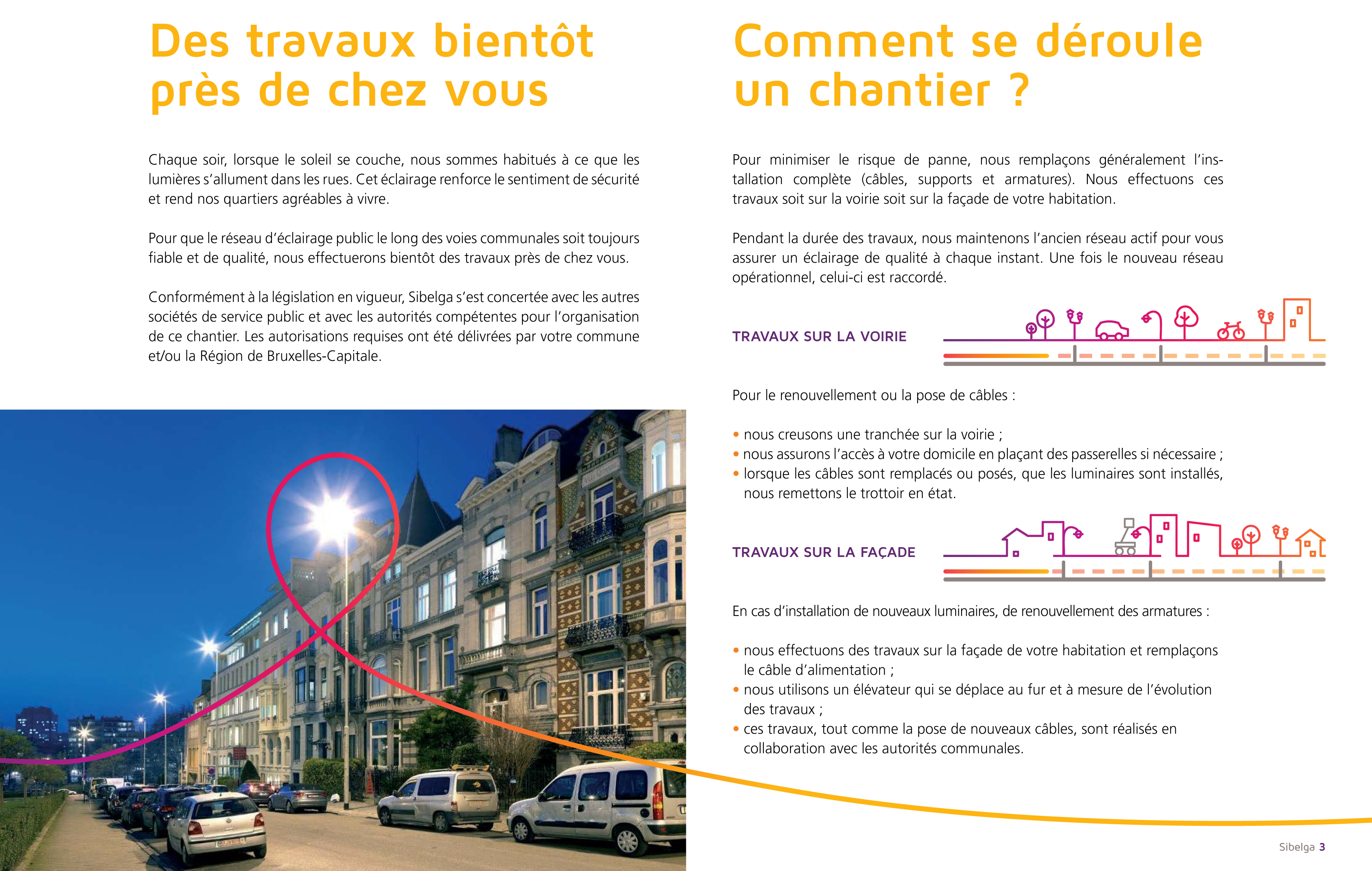Brochure Chantier Eclairage Public