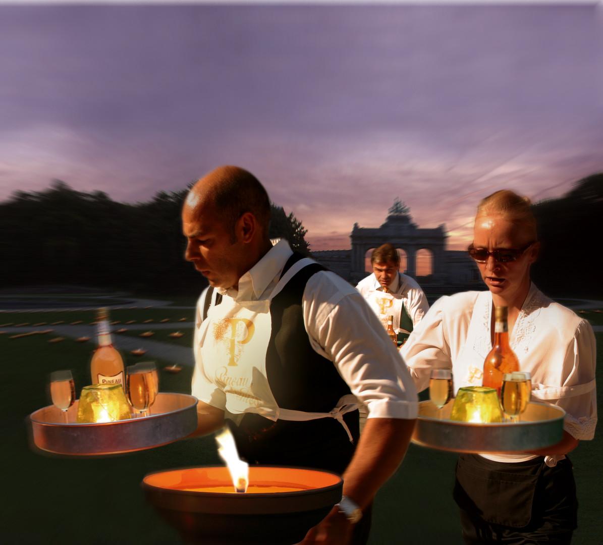 Pineau des Charentes Course aux flambeaux