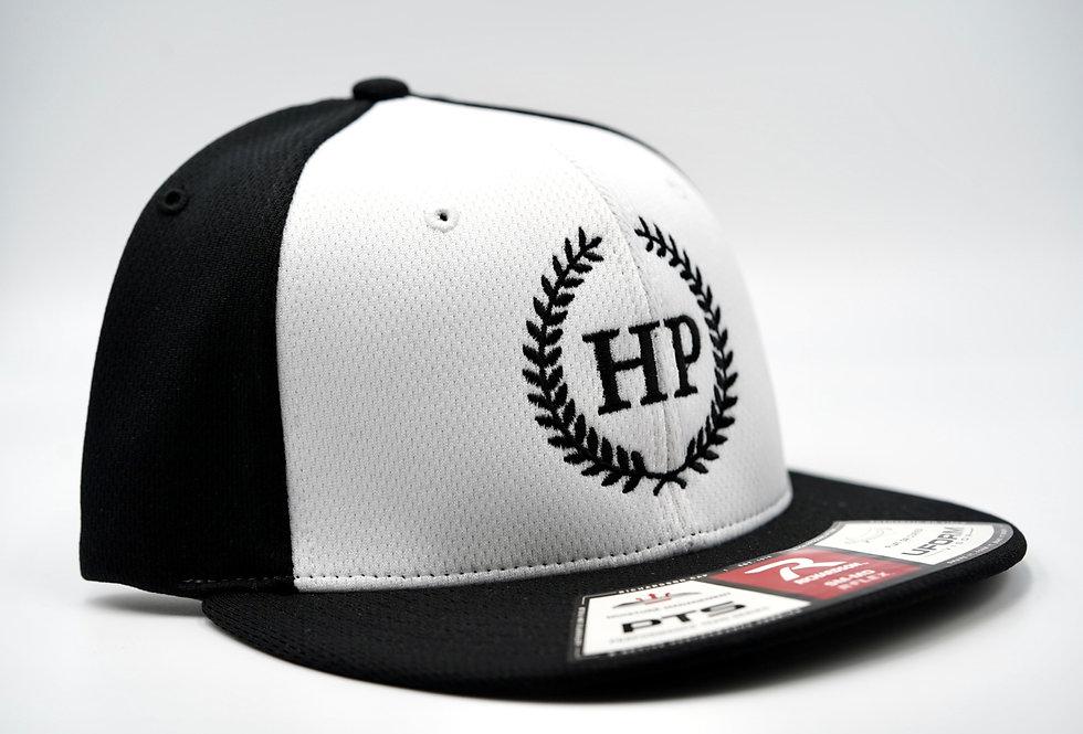 Flex Fit Baseball Hat Black/White