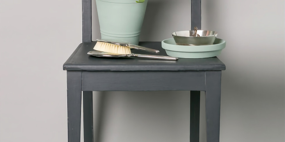 Möbelgestaltung mit Kreidefarbe