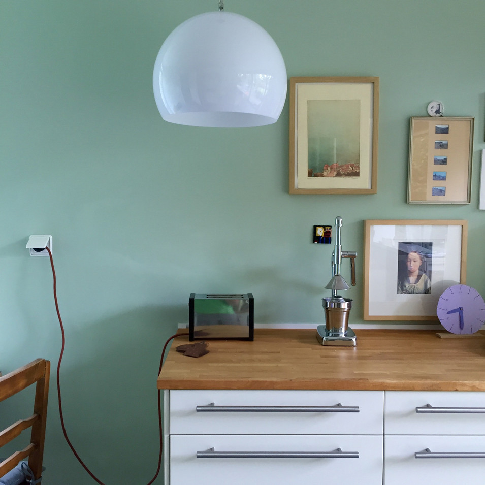 kt.color in einer Küche