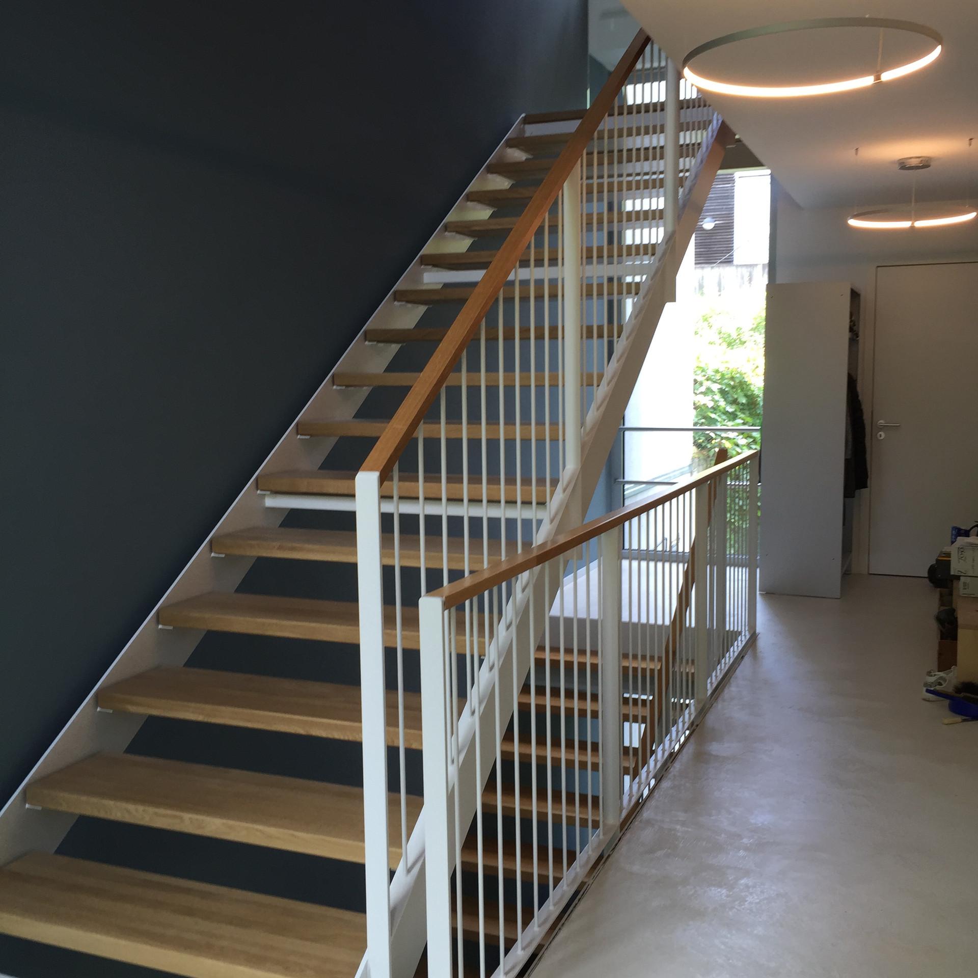 Treppenhaussanierung fertig