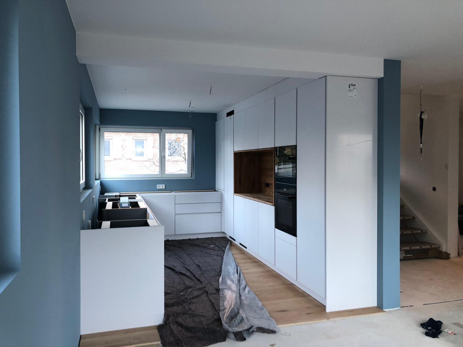 Küche mit Anna von Mangold Annas Blau