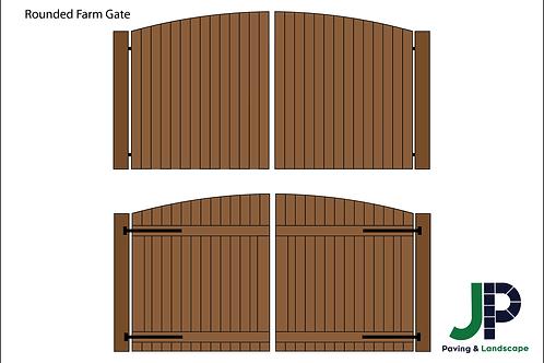 Round Farm Gate