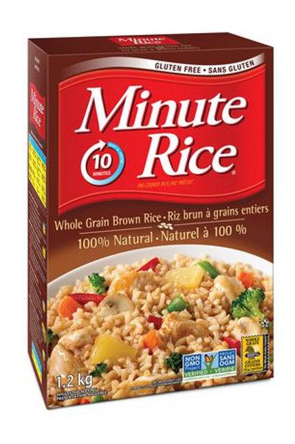 Minute Rice - Brown - 1.2 kg