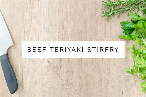 Beef Teryaki Stir Fry - 500g