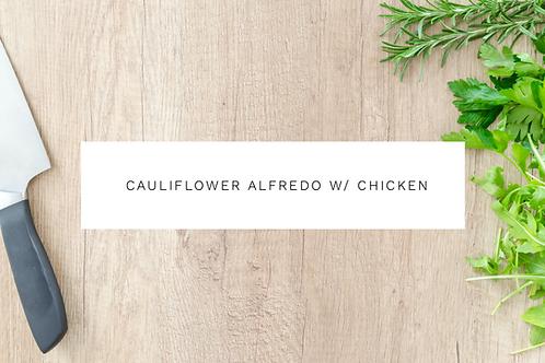 Cauliflower Alfredo Mac N' Cheese With Chicken - 450g