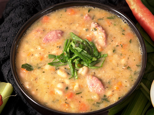 Navy Bean Soup with Sausage