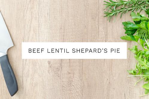 Beef & Lentil Shepard's Pie - 650g
