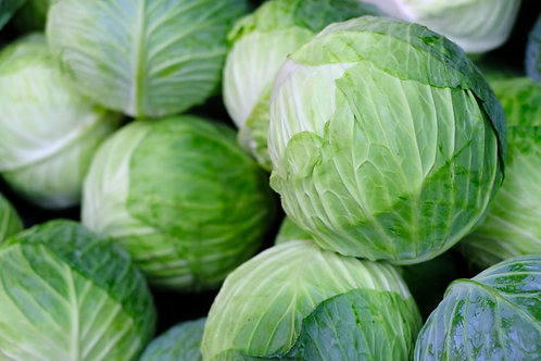 Green Cabbage (approx. 4 lbs) - each