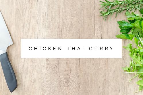 Chicken Thai Curry w/ Cauliflower and Chickpeas - 400g