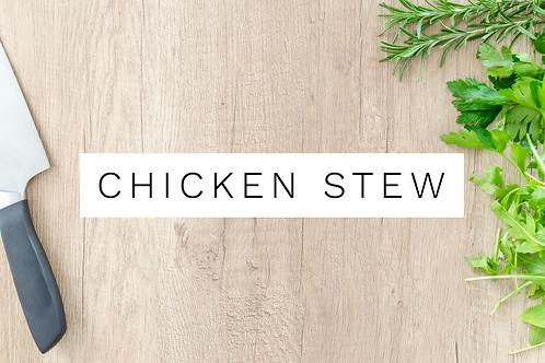 Chicken Stew w/ Biscuit Top Crumble - 400g