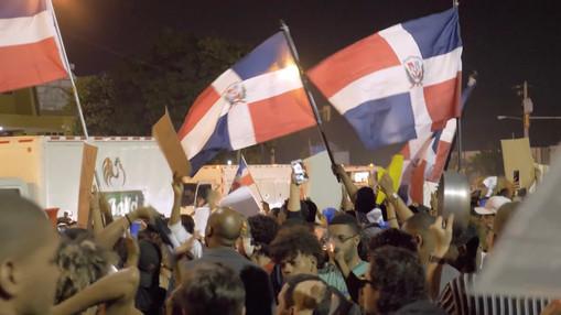 Protestas en la Plaza de la Bandera - La Gran Pregunta