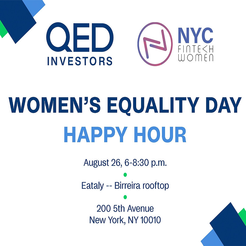 Women's Equality Day Happy Hour