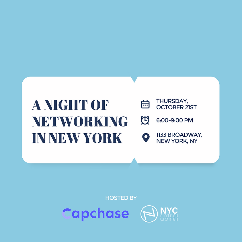 A Night of Networking in New York