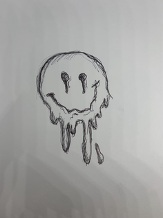 Melted smiley