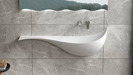 Luxury-White-Wall-Mounted-Sink-Large-Cur