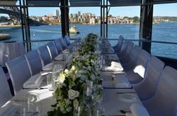 Long Bridal Table Flowers