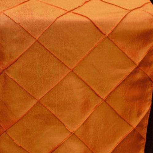 Orange Pintuck Table Cloths