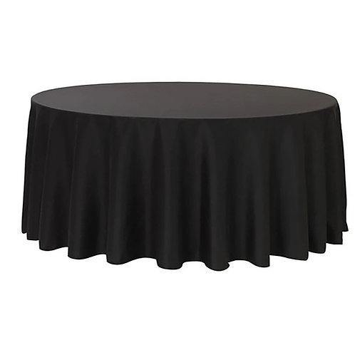 Black Round Table Cloths