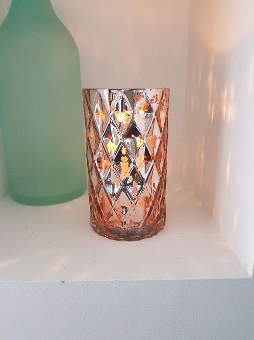 Rose Gold Cylinder Vase