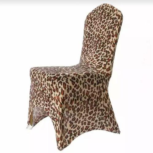 Leopard Print Chair Cover