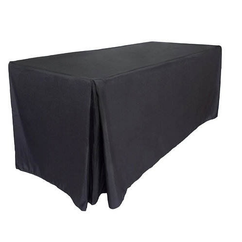 Black Boxed Trestle Cloth