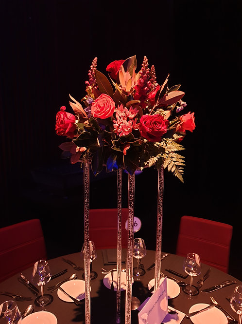 Clear Floral Stand