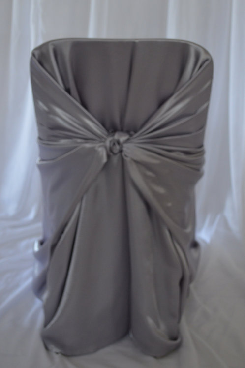 Silver Tieback Chair Covers