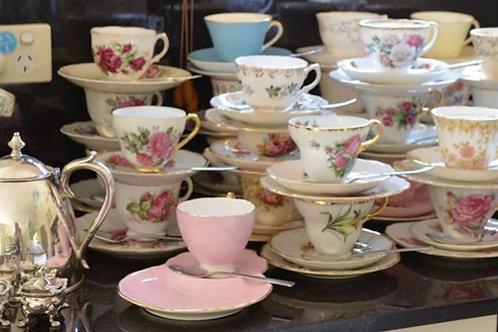 Teacup Trios(Cup, Saucer & Cake Plate)