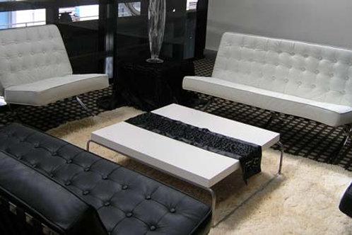 White Barcelona Lounge