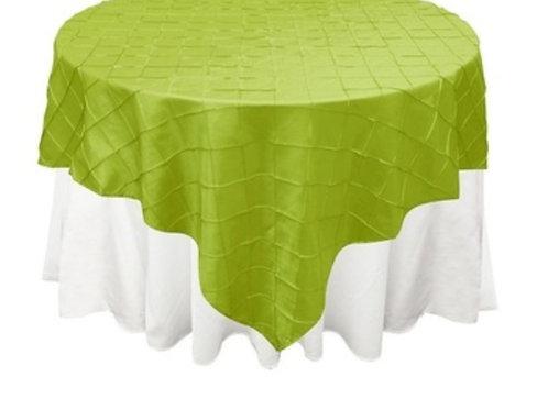 Green Pintuck Table Cloths