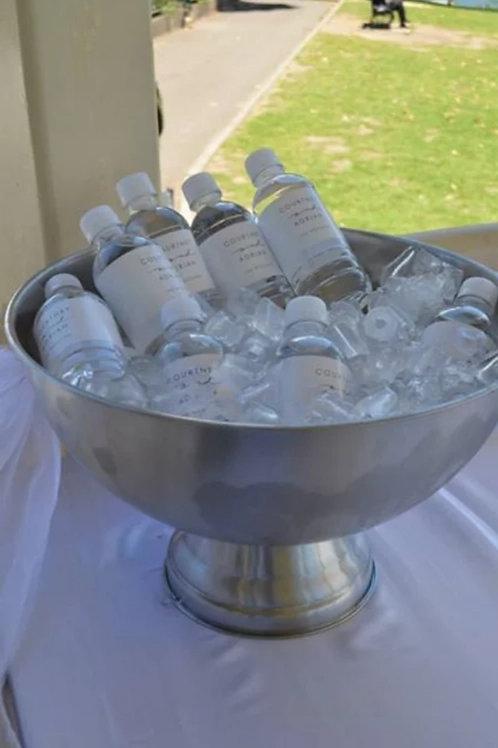 Silver Round Ice Bucket
