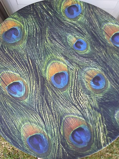Peacock Satin Table Cloth