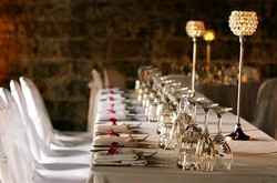Bridal Table with Goblets