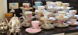 Vintage Tea Cups for Hire