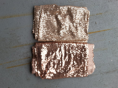 Champagne Sequin Runner