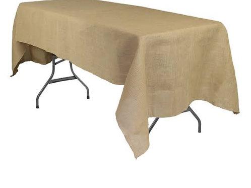 Hessian Trestle Table Cloth