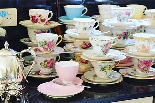 Vintage Tea Cup Trio