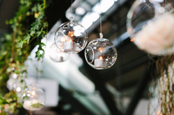 Tealight Balls with Ivy