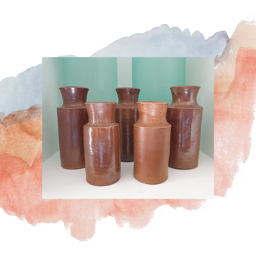 Earthware Vases -  3 sizes to select