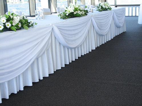 Bridal Table Draping