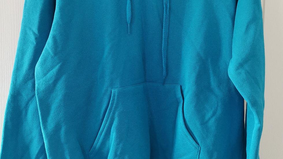 Azure Blue Unisex Hoodie
